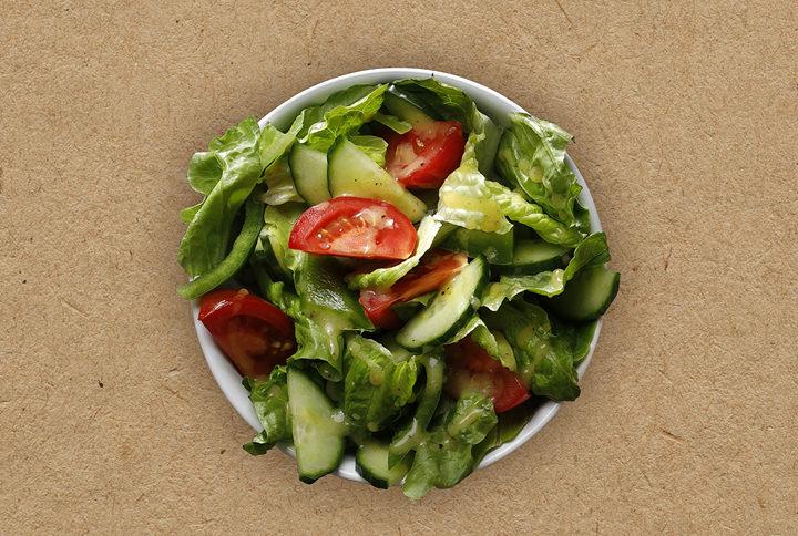 Malý zahradní salát